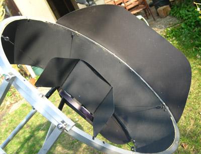 astrotreff astronomie treffpunkt blende aus flugzeugsperrholz. Black Bedroom Furniture Sets. Home Design Ideas